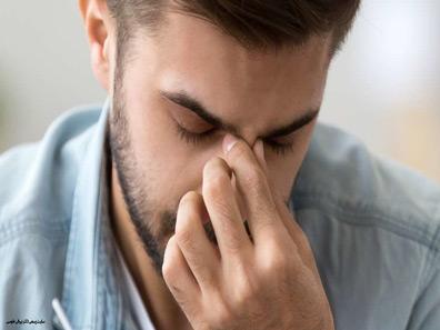 ناراحتی بر اثر شکستگی بینی