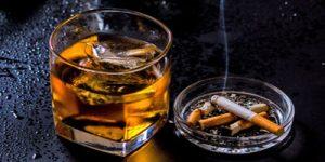 مصرف-الکل-و-سیگار